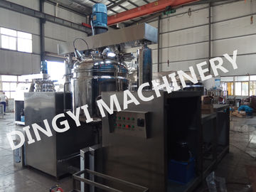 High Speed Vacuum Emulsifying Mixer , 380V Vacuum Mixer Machine Electrical Heating