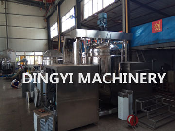 380V Vacuum Planetary Mixer , Steam Heating Lotion Manufacturing Equipment