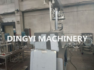 Shower Gel Industrial Emulsifying Mixer Reasonable Structure Easy Operation