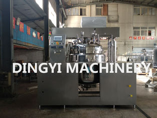 Stainless Steel Industrial Ointment Mixing Machine Electrical Heating Emulsion Function