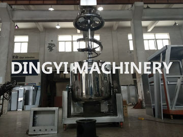 150L Industrial Vacuum Emulsifying Mixer High Shear Homogenizer Safety Valve