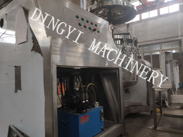 Industrial Vacuum Mixer Homogenizer , Body Cream Making Machine 100L