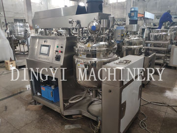 High Viscosity Toothpaste Manufacturing Plant , Toothpaste Making Machine