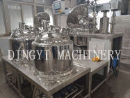 China Stainless Steel Vacuum Emulsifying Mixer For Pharmaceuticals , Cosmetic company