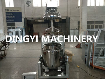 China ZRJ-100L Shower Gel Industrial Vacuum Mixer PLC Control Verticle Layout Type factory