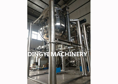 Stainless Steel Vacuum Emulsifying Machine , 380V Emulsifier Machine Electrical Heating
