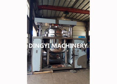 Ointment Vacuum Emulsifying Machine , Shower Gel Vacuum Homogenizer PLC Control