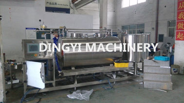 Stainless Steel 500L Automatic CIP System Cleaning Unit Fast Speed Save Labour