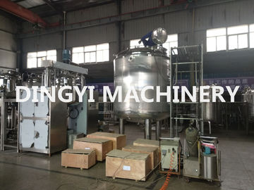 PLC Control Jacketed Stainless Steel Mixing Tanks 380V 220V For Food / Chemical