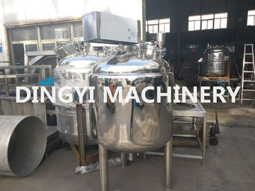 Industrial Stainless Steel Mixing Vessels , Stainless Steel Tank With Agitator
