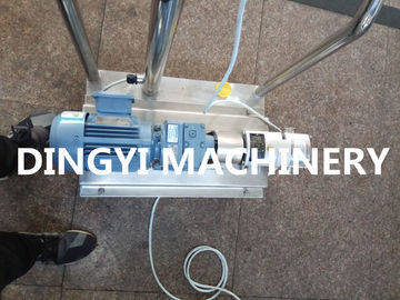 Thick Food Sanitary Lobe Pump SS304 / SS316L Material Long Service Time