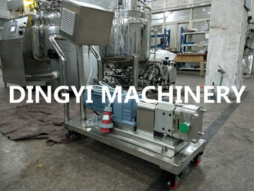 Butterfly Rotor Lobe Sanitary Positive Displacement Pump Chocolate / Yogurt Transfering