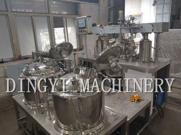 China Electrical Control Vacuum Emulsifying Mixer Plant 200L Customized Size factory