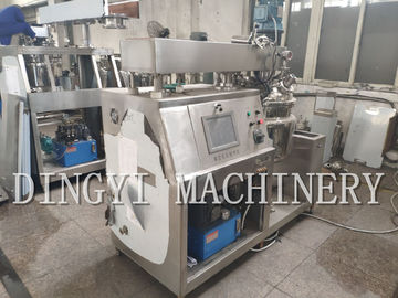China High Speed Liquid Soap Mixer Machine / SS316L Shampoo Making Equipment factory