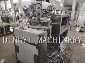 SS Cosmetic Cream Making Machine , Industrial Small Scale Homogenizer