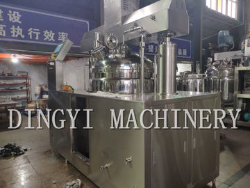 High Shear Cream Manufacturing Machine / Electric 1 Stage Homogenizer