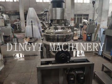 China Electric Body Lotion Making Machine / Automatic Emulsifier For Lotion factory